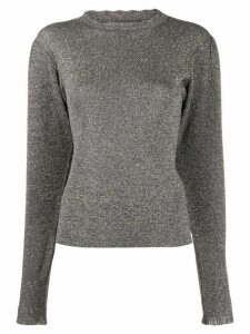 Isabel Marant metallic effect jumper - Blue