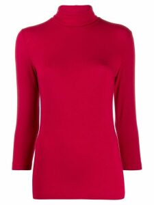 Circolo 1901 turtle-neck jumper - Red