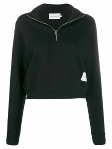 Calvin Klein Jeans printed logo jumper - Black