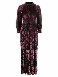 Talbot Runhof Tiarella dress - PINK