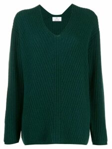Allude slouchy knit jumper - Green