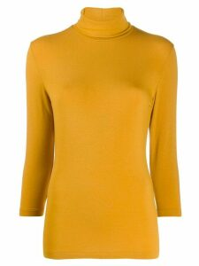 Circolo 1901 turtle-neck jumper - Yellow