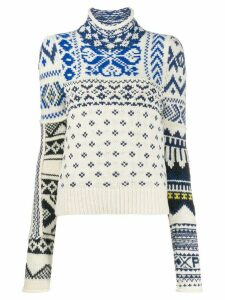 Polo Ralph Lauren winter motifs jumper - White