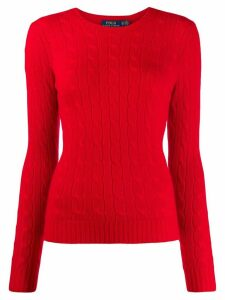 Polo Ralph Lauren cashmere cable knit jumper - Red