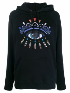 Kenzo Eye embroidered hoodie - Black