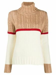 Zanone cable knit jumper - NEUTRALS
