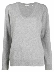 Vince cashmere v-neck jumper - Grey