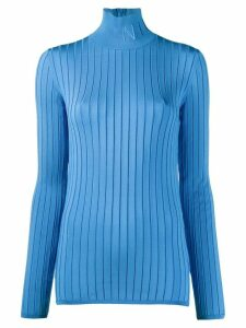 Nina Ricci ribbed knit jumper - Blue