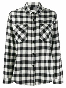Woolrich check pattern shirt - Black