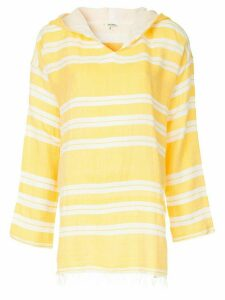 lemlem hooded tunic - Yellow