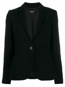 Paule Ka single-breasted blazer - Black