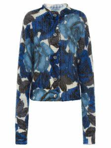 Prada floral cardigan - Blue