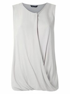 Uma Raquel Davidowicz Cris draped blouse - Grey