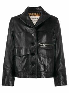 Zadig & Voltaire Lila Cuir jacket - Black