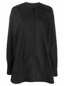 Sofie D'hoore oversized long-sleeve shirt - Black