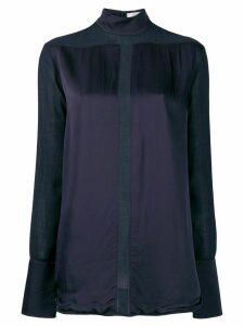 Victoria Victoria Beckham sheer panel shirt - Blue