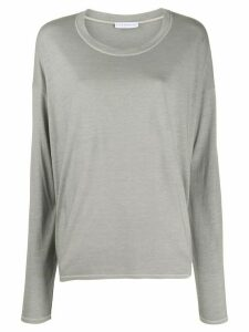 Fine Edge long-sleeve T-shirt - NEUTRALS