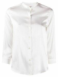 Blanca mandarin collar shirt - White
