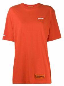 Heron Preston printed logo T-shirt - Red