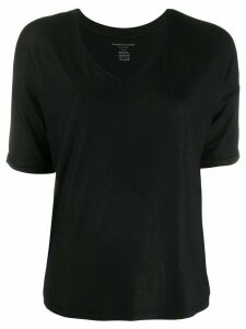 Majestic Filatures dropped shoulder T-shirt - Black
