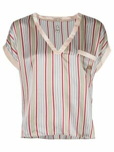 Morgan Lane Yeva v-neck T-shirt - PINK
