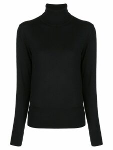 The Row rollneck jumper - Black