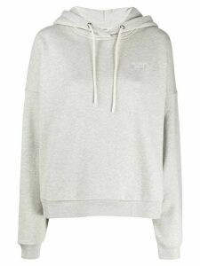 Closed logo embroidered hoodie - Grey