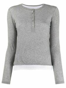 Majestic Filatures jersey T-shirt - Grey
