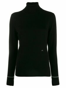 Calvin Klein roll neck jumper - Black