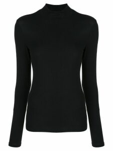 Theory turtle neck top - Black