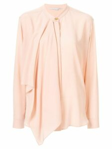 Stella McCartney draped-panel blouse - PINK