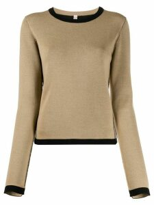 Antonio Marras crew neck knitted jumper - NEUTRALS