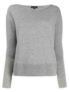 Antonelli round neck knit sweater - Grey
