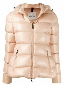 Moncler hooded down jacket - PINK