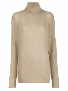 Aspesi roll neck jumper - NEUTRALS