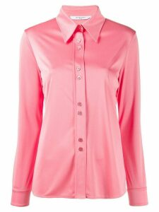 Givenchy satin pointed collar shirt - PINK