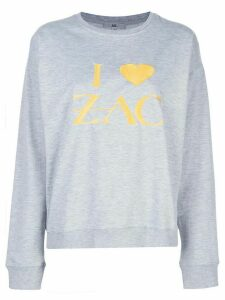 Zac Zac Posen I Love Zac sweatshirt - Grey