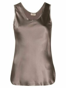 Blanca Vita scoop neck camisole - Brown
