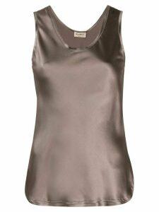 Blanca scoop neck camisole - Brown