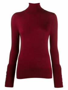 Snobby Sheep turtleneck jumper - Red