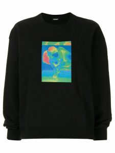Christian Dada graphic-print sweatshirt - Black