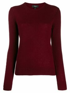 Theory crewneck sweater - Red