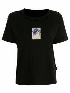 Ground Zero graphic print T-shirt - Black
