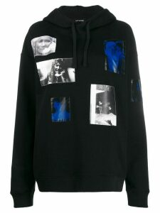 Raf Simons patch photo hoodie - Black