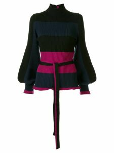 Roksanda belted waist jumper - Black