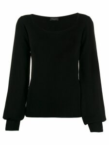 Roberto Collina balloon sleeves jumper - Black