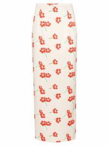 Bernadette floral print maxi skirt - PINK
