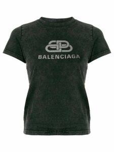 Balenciaga BB Balenciaga logo T-shirt - Grey