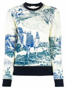 Chloé Toile de Jouy sweatshirt - White