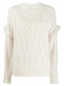 IRO dropped shoulder jumper - White